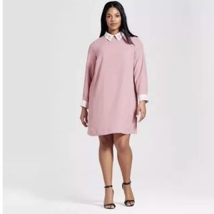 Victoria Beckham For Target Blush Pink Dress